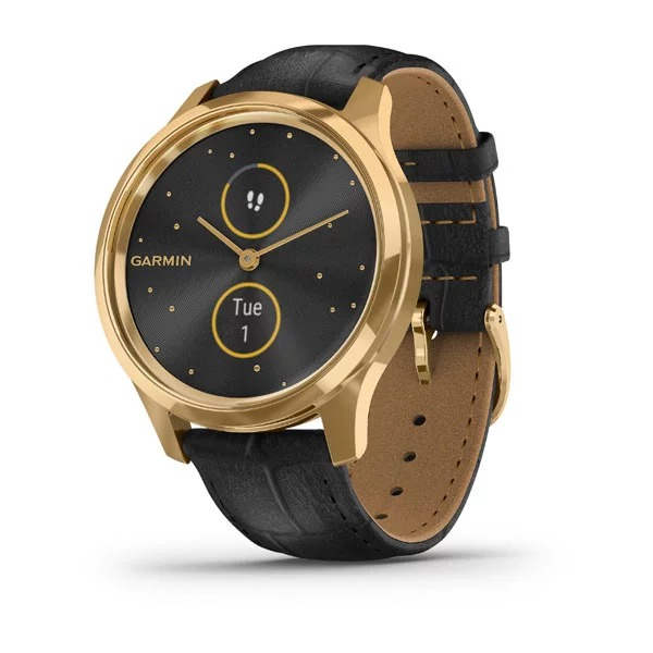 dong-ho-vivomove-luxe,-24k-gold-pvd-/-black-embossed-italian-leather