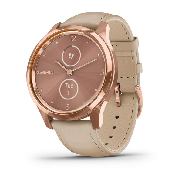dong-ho-vivomove-luxe,-18k-rose-gold-pvd-/-lightsand-italian-leather
