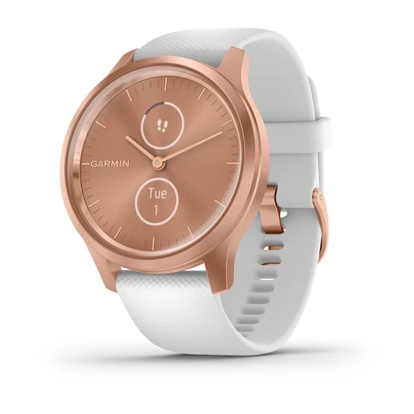 dong-ho-vivomove-style,-white-/-rose-gold